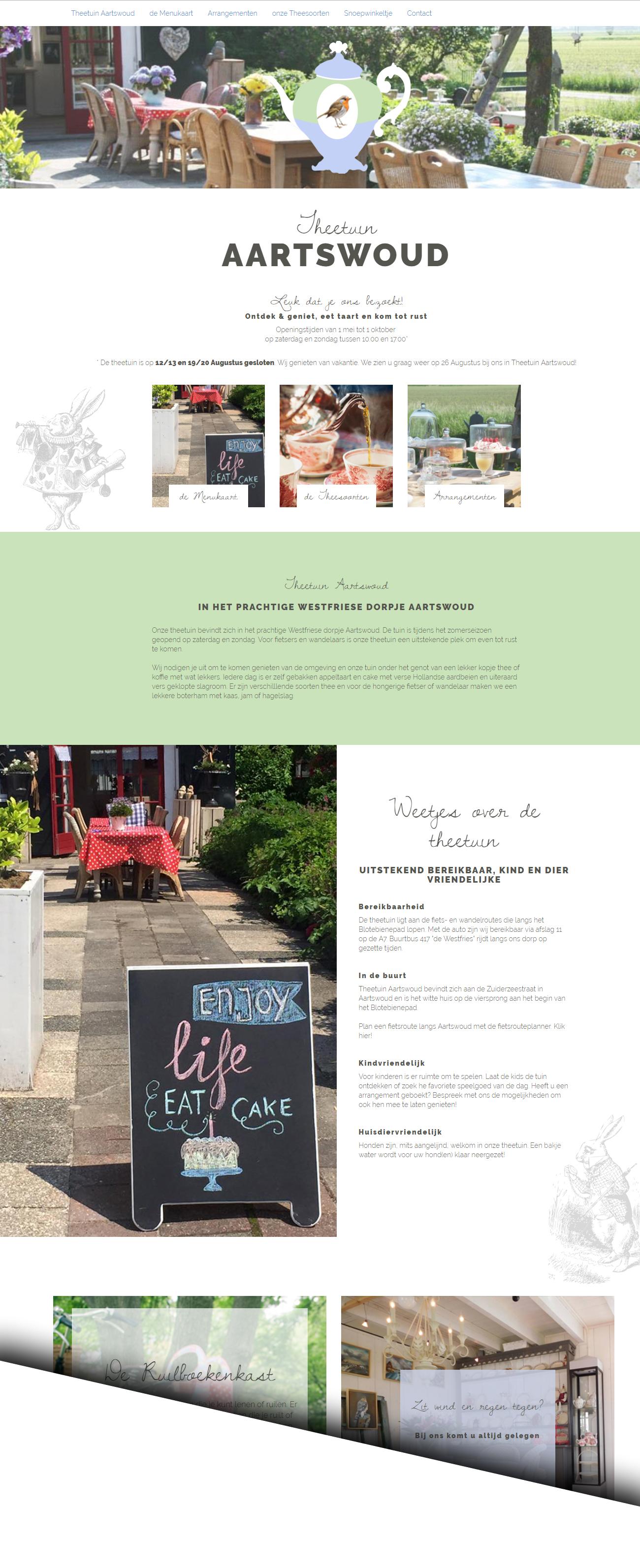 Schilder website design